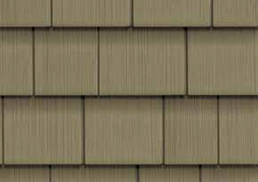 "CertainTeed 5"" Straight Edge Shingles"