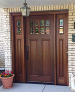 Pella Wood Font Door