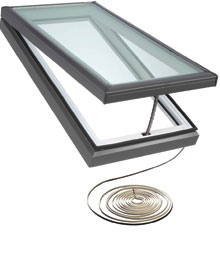 "Electric ""Fresh Air"" Skylights"